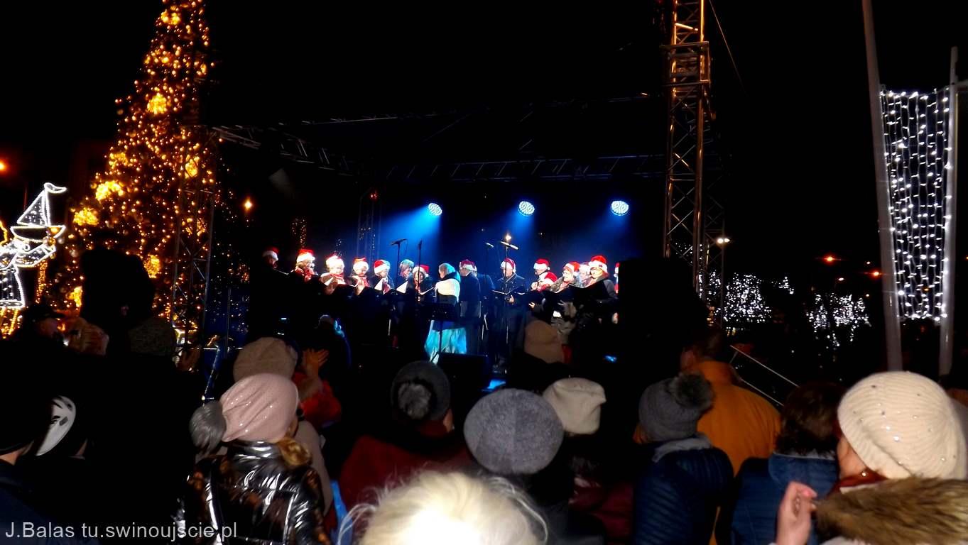 Koncert Kolęd Świnoujście Plac Wolności.