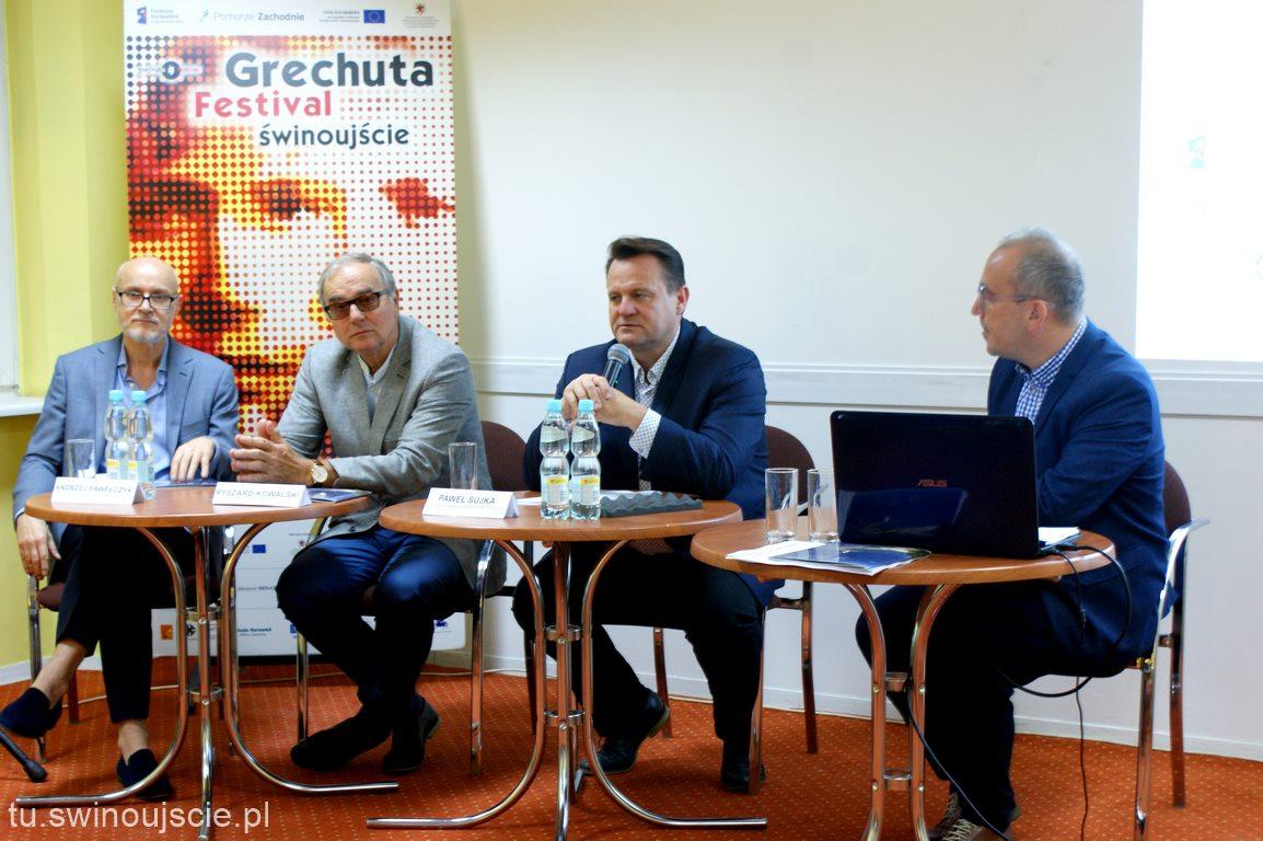 Konferencja prasowa 4. GRECHUTA FESTIVAL – ŚWINOUJŚCIE 2018 (Program Festiwalu)