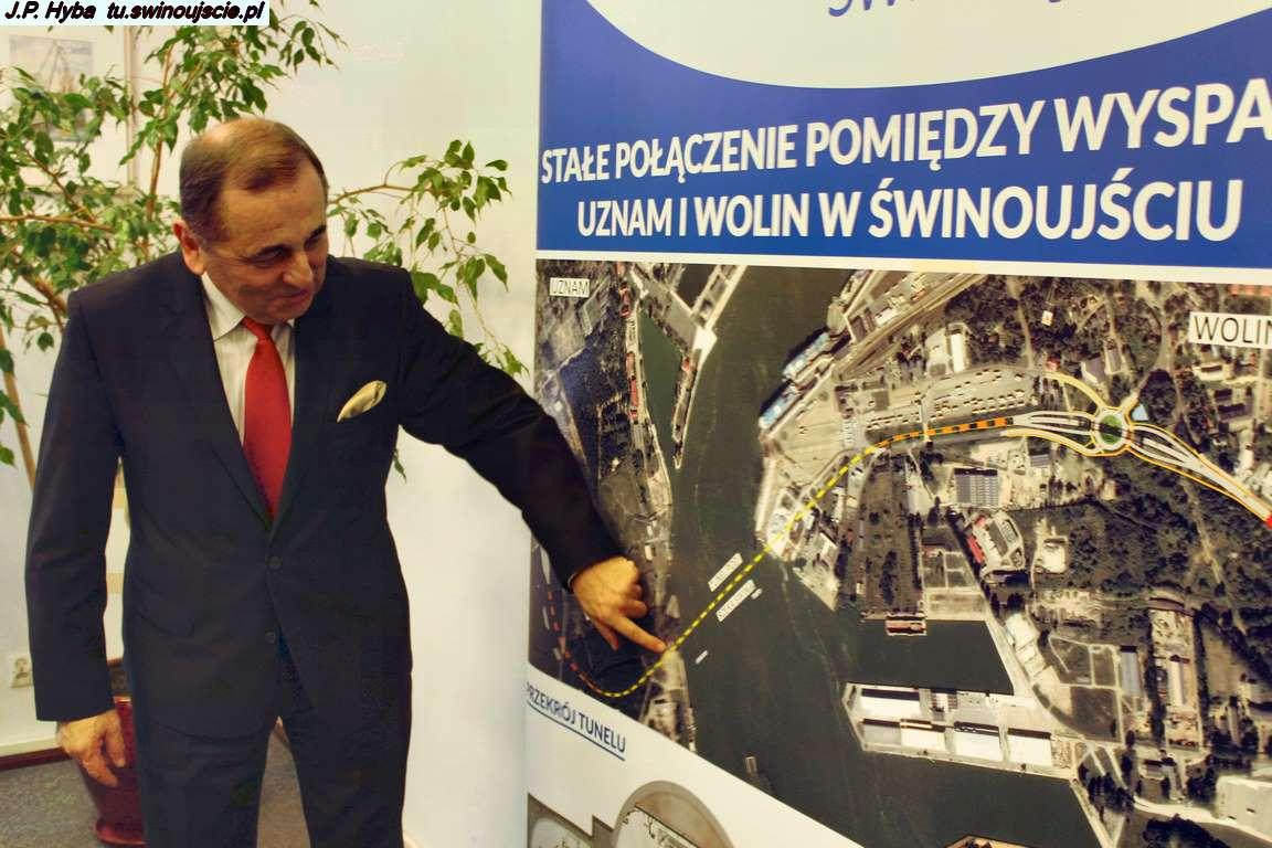 Konferencja prasowa Prezydenta Miasta Świnoujście