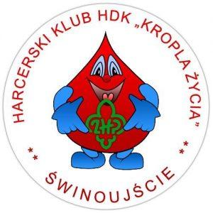 Świnoujście Honorowy klub dawców krwi logo