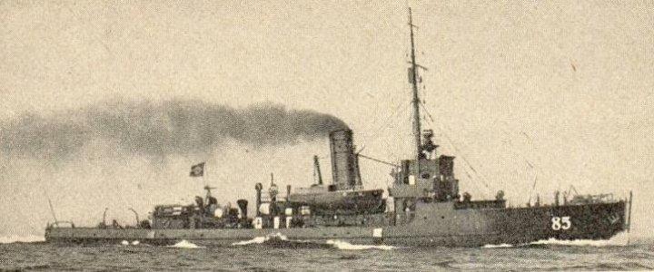 Niemieckie trałowce typu 85