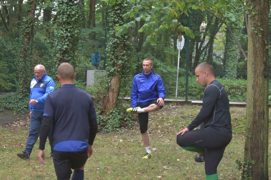 Pierwszy trening