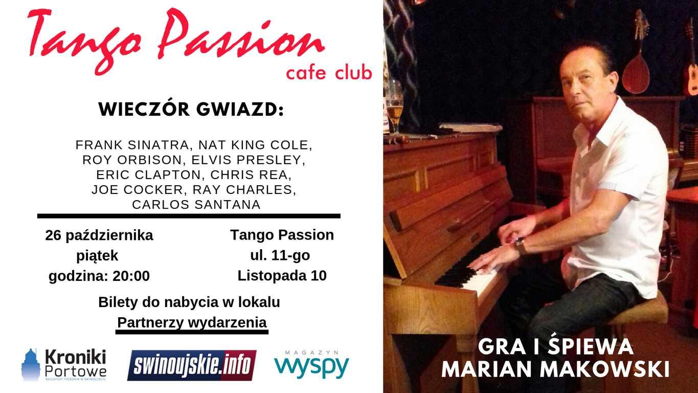 Świnoujście. Tango Passion – koncert: 26.10.2016