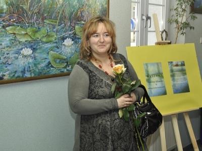 Wystawa malarstwa pani Małgorzaty Pastuszek