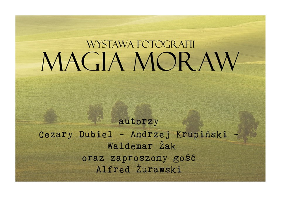 """Otwarcie zbiorowej wystawy fotograficznej pt. """"Magia Moraw"""""""