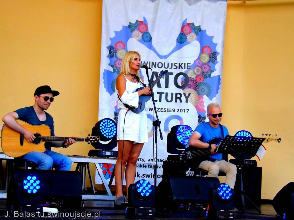 Wczoraj w muszli koncertowej zaśpiewała Maja Koman