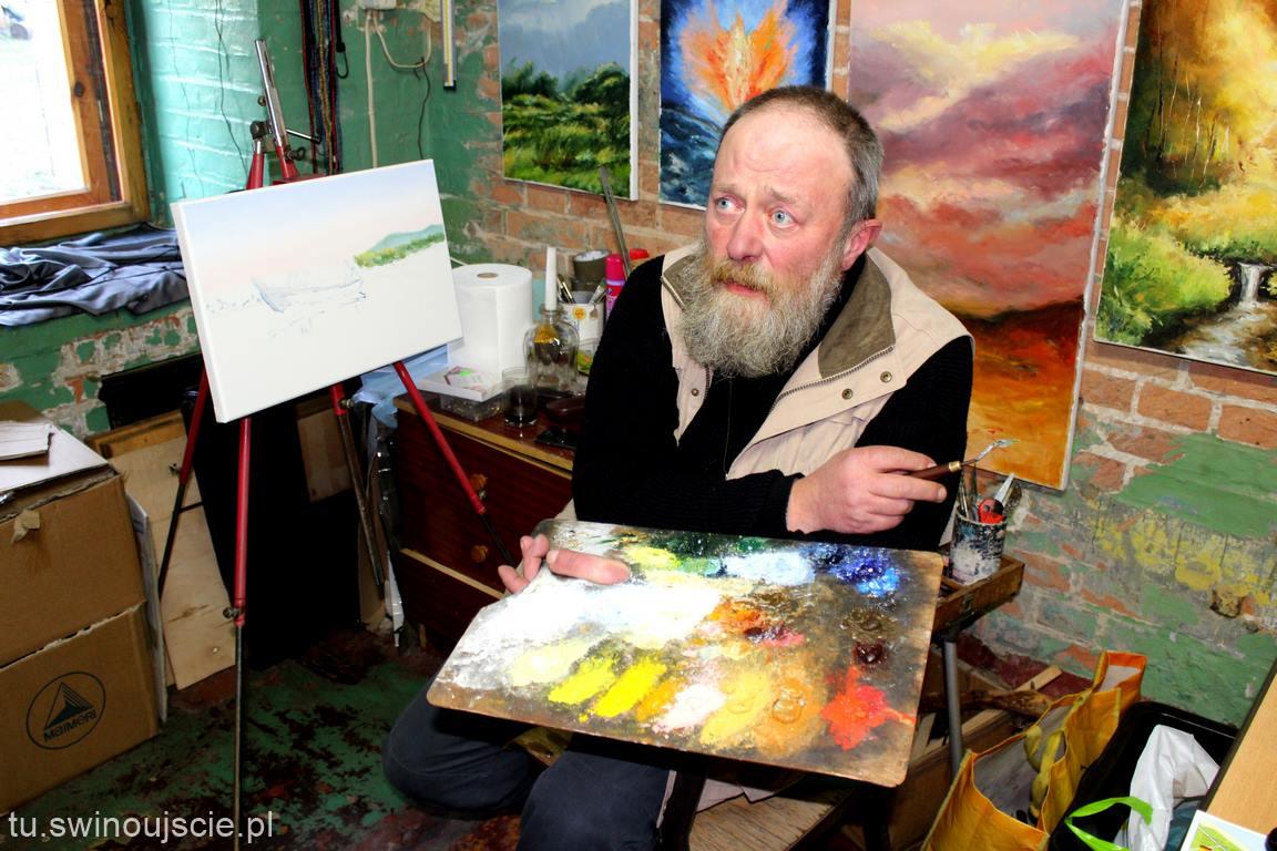 Artystyczny świat Marka Mamicy