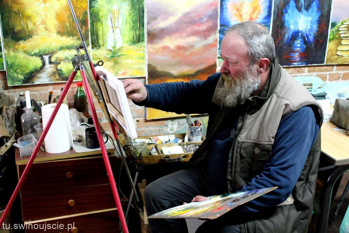 Świnoujście. Z wizytą w Atelier Marka Mamicy (fotogaleria)