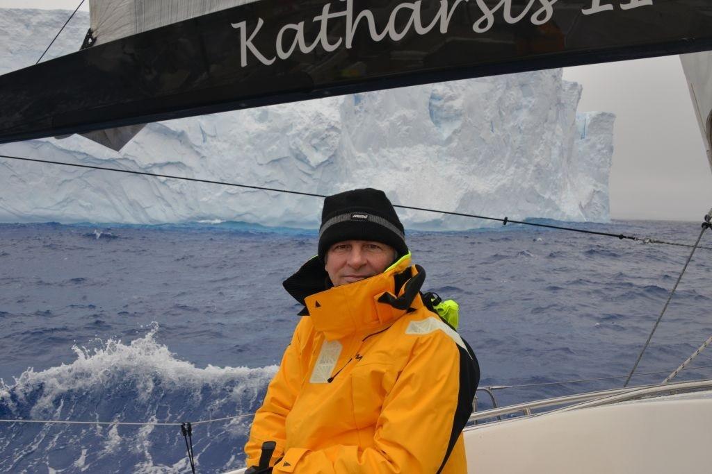 Jacht Katharsis II minął Horn w rejsie dookoła Antarktydy