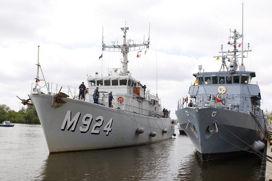 BALTOPS 17 okręty przy szczecińskich Wałach Chrobrego
