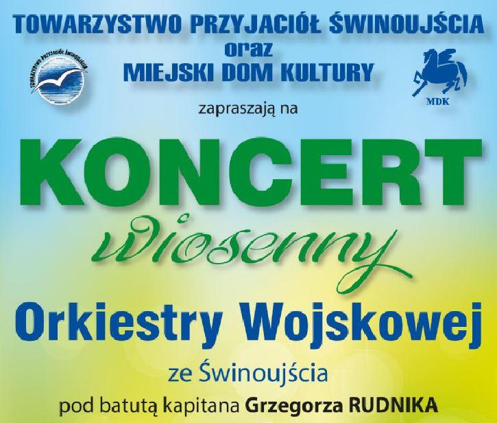 """Świnoujście. """"Koncert Wiosenny"""" w Miejskim Domu Kultury"""