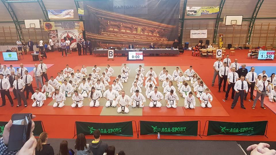 Świnoujście. Mistrzostwa Karate Kyokushin