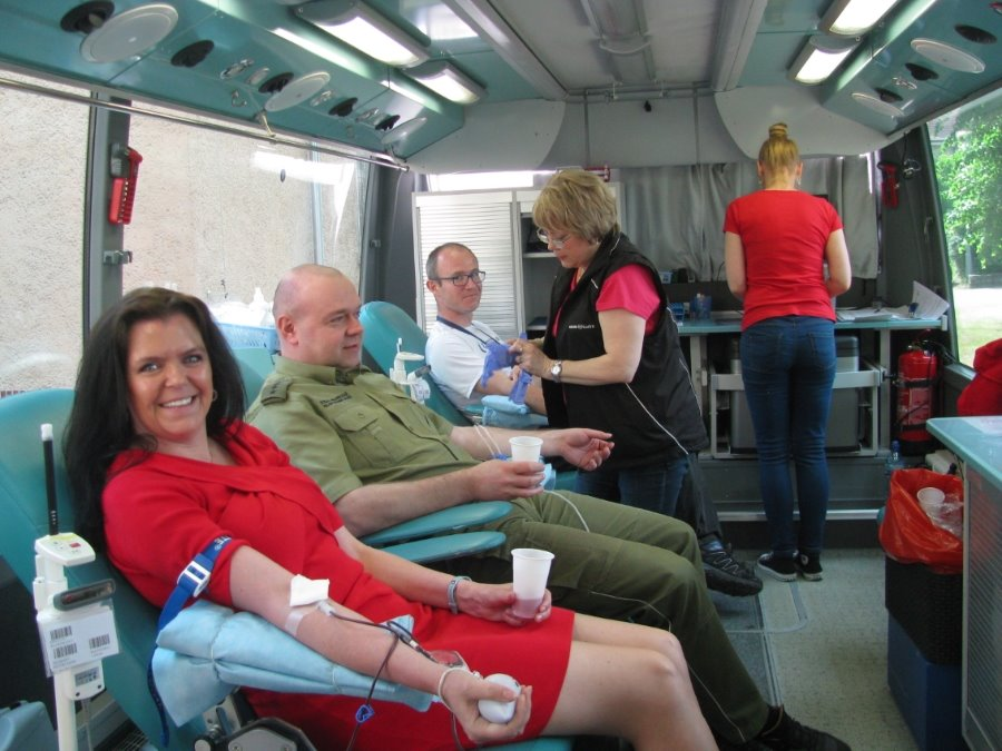 Uczcili święto Straży Granicznej oddając krew