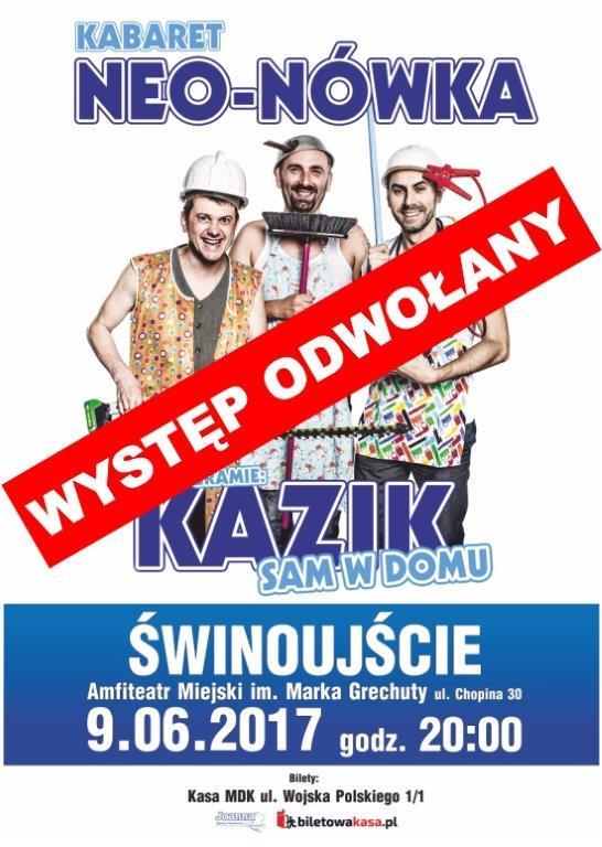 Kabaret Neo-Nówka został odwołany