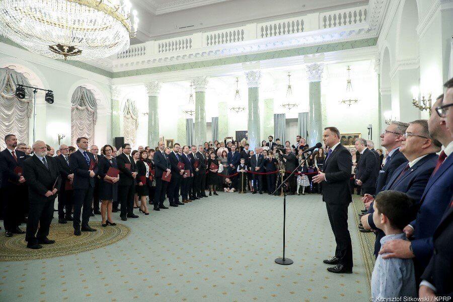 Szczecin. Prezydent wręczył kolejne nominacje profesorskie.