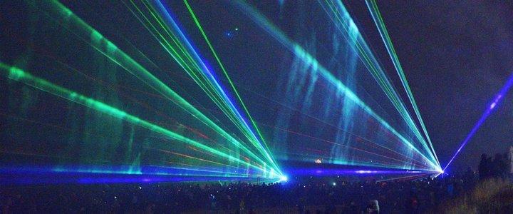 Przywitanie Nowego Roku 2017 w centrum Świnoujścia