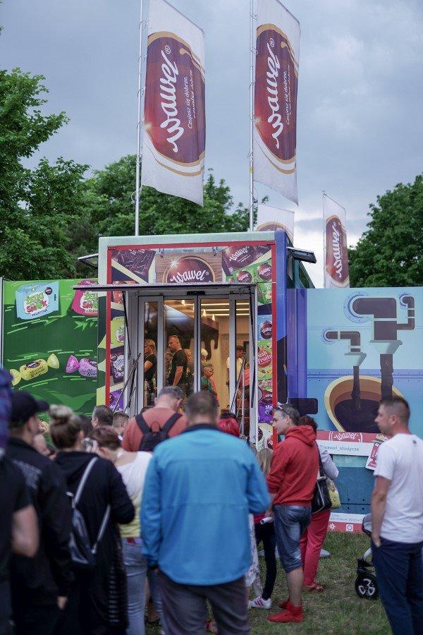 Słodki Wawel Truck podbił serca mieszkańców Świnoujścia.