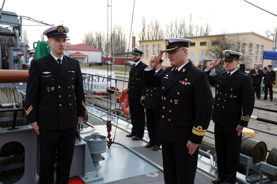 30 lat służby ORP RESKO pod polską banderą