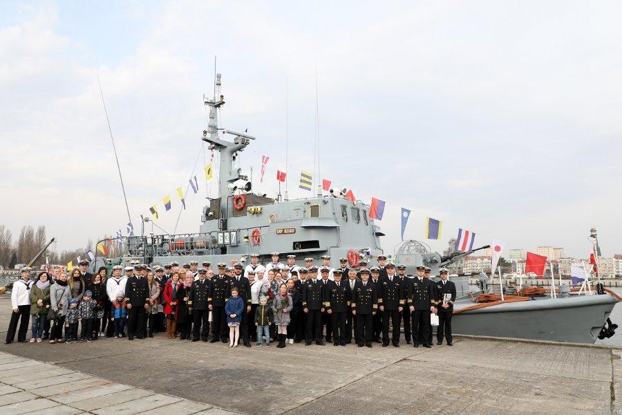 Świnoujście. 30 lat służby ORP RESKO pod polską banderą