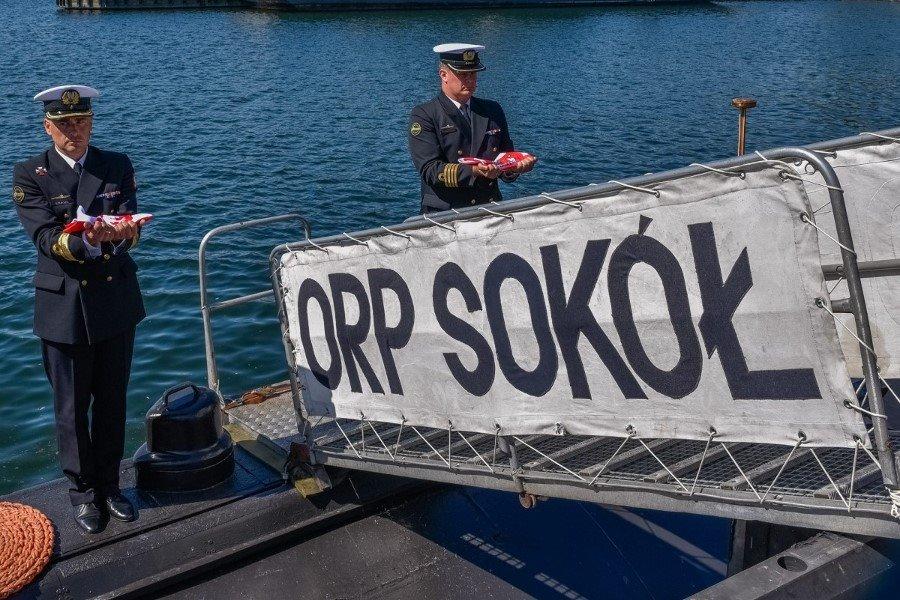 ORP Sokół kończy służbę w Marynarce Wojennej (foto)