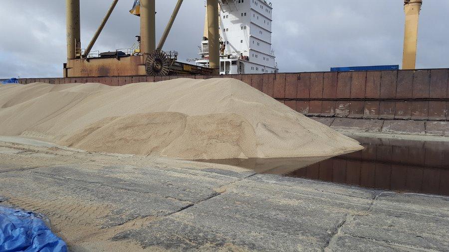 Siarka granulowana w OT Port Świnoujście