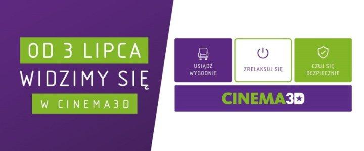Świnoujście. Już 3 lipca seanse filmowe w kinie Cinema3D!