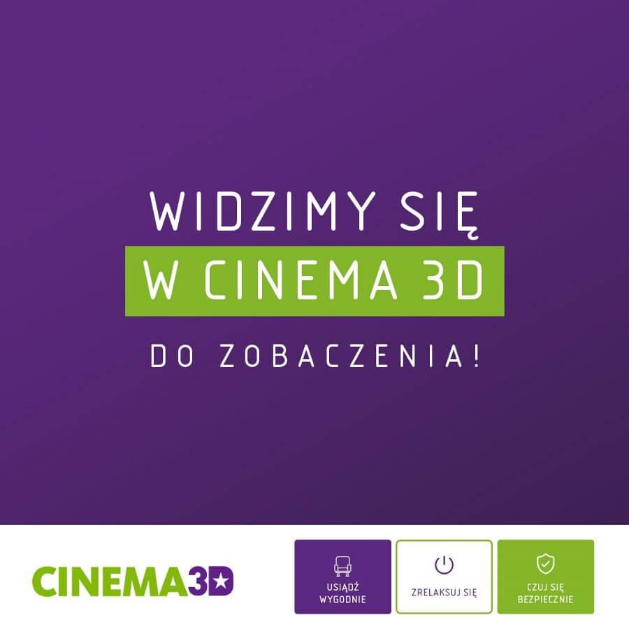 Już w piątek seanse filmowe w kinie Cinema3D w Świnoujściu!