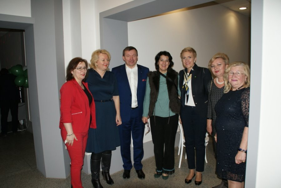 Pani Poseł PSL Urszula Pasławska na spotkaniu w Świnoujściu