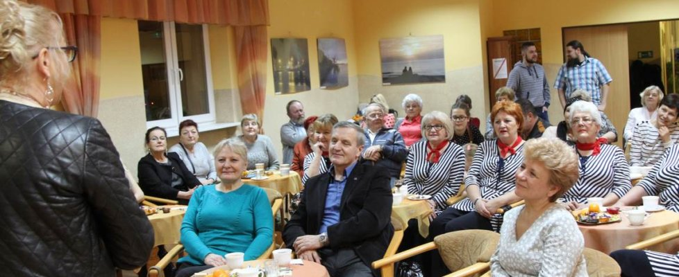 Anna Partyka-Judge na spotkaniu z mieszkańcami rodzinnego Warszowa