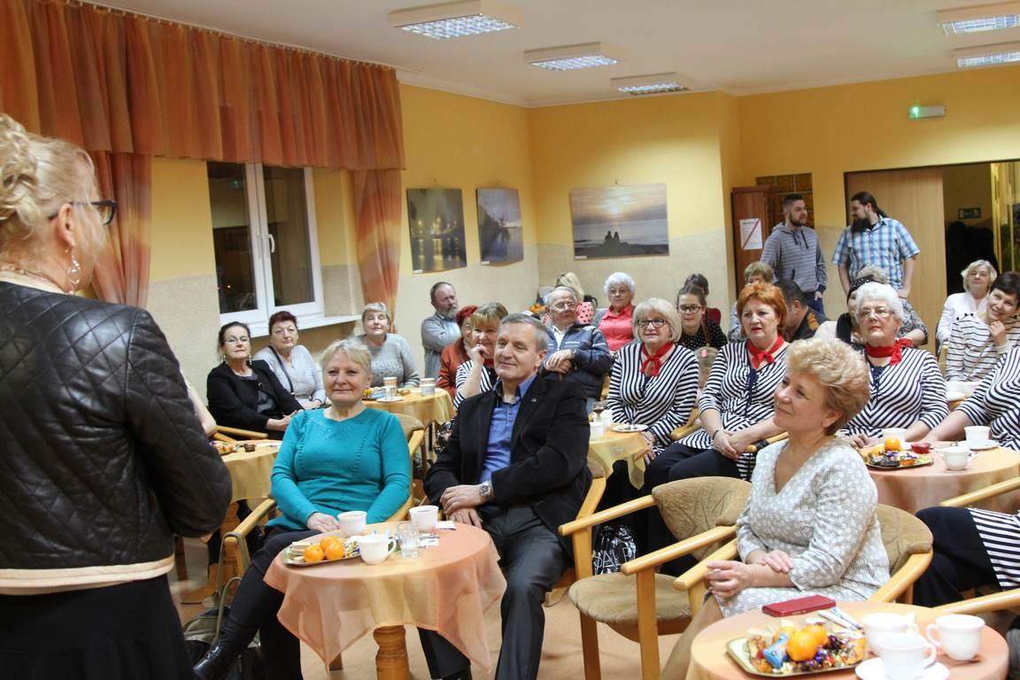 Anna Partyka-Judge na spotkaniu z mieszkańcami