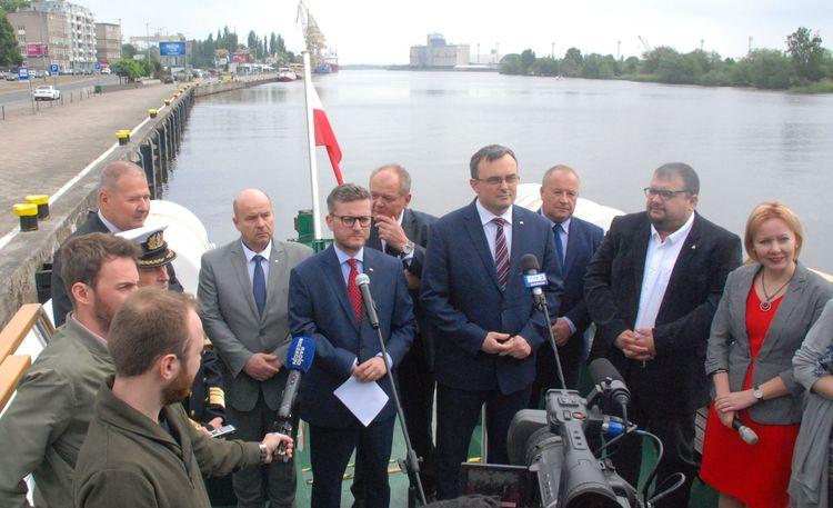 Szczeciński udział w szeroko pojętej gospodarce morskiej