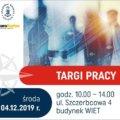 Targi Pracy Biura Karier w Akademii Morskiej w Szczecinie.