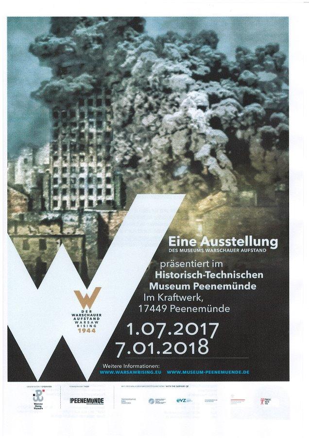 """Wystawa """"Powstanie Warszawskie 1944"""" w Peenemünde"""