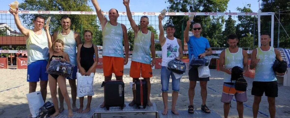 Sukces Świnoujskich siatkarzy plażowych!