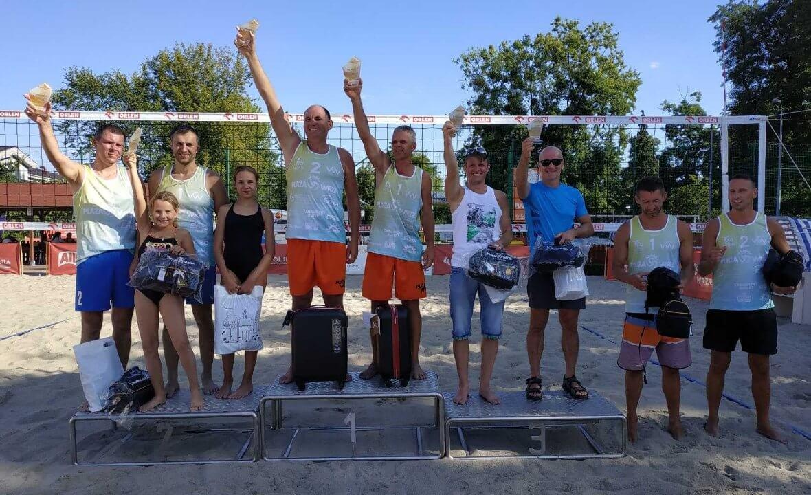 Sukces Świnoujskich siatkarzy plażowych