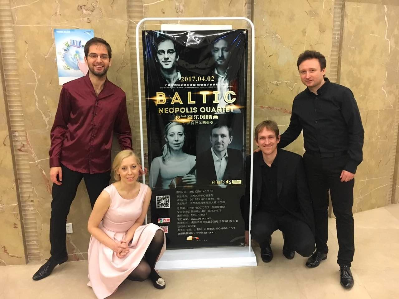 Baltic Neopolis Quartet zakończył tournée po Azji