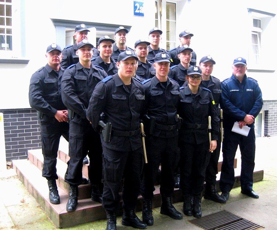 Słuchacze ze Szkoły Policji w Pile patrolują ulice Świnoujścia
