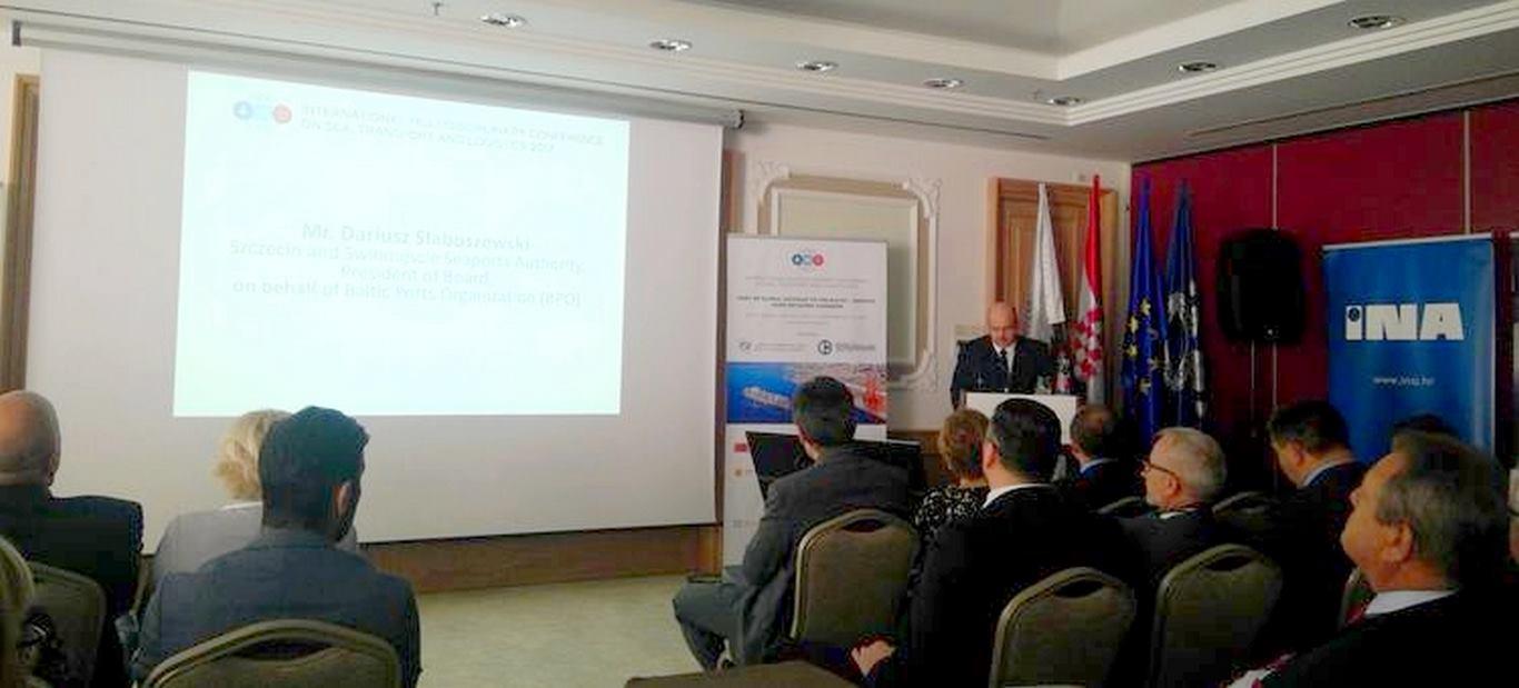 Port Szczecin Świnoujście – konferencja w chorwackiej Opatiji.