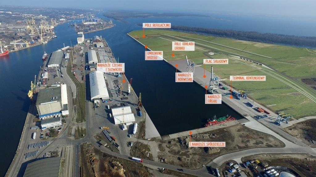 1,5 mld złotych na rozbudowę portów Szczecina i Świnoujścia