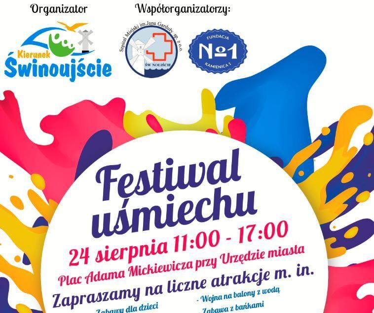 Świnoujście. Festiwal Uśmiechu edycja 2 – już w najbliższą sobotę