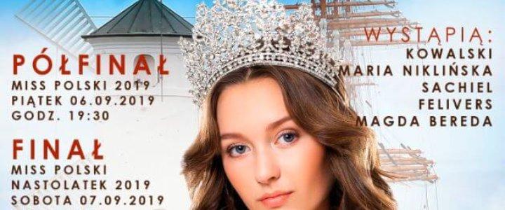 Już dziś w Amfiteatrze im. Marka Grechuty w Świnoujściu odbędzie się półfinał Miss Polski 2019.