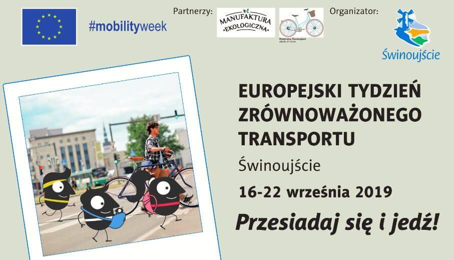 Świnoujście. Europejski Tydzień Zrównoważonego Transportu. Zobacz, co, gdzie i kiedy będzie się działo
