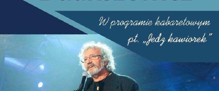 """Świnoujście. Krzysztof Daukszewicz """"Jedz Kawiorek""""."""