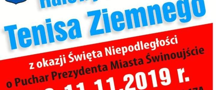Zaproszenie na turniej Tenisa Ziemnego z okazji Święta Niepodległości o Puchar Prezydenta Miasta Świnoujście.