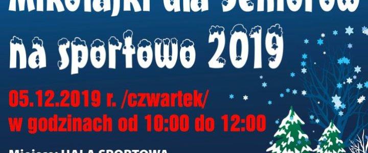 Świnoujście. Zaproszenie na Mikołajki dla Seniorów na sportowo.