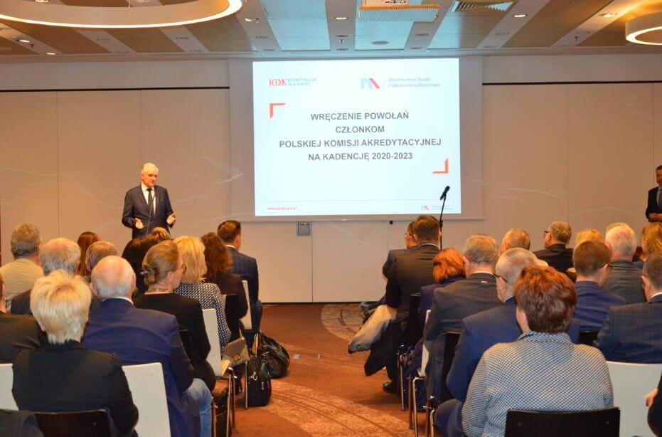 Prof. Wiesław Skrzypczak z Zachodniopomorskiego Uniwersytetu w Szczecinie powołany przez ministra do Polskiej Komisji Akredytacyjnej.