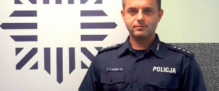 PODZIĘKOWANIA DLA FUNKCJONARIUSZA Z KOMISARIATU POLICJI W MIĘDZYZDROJACH.