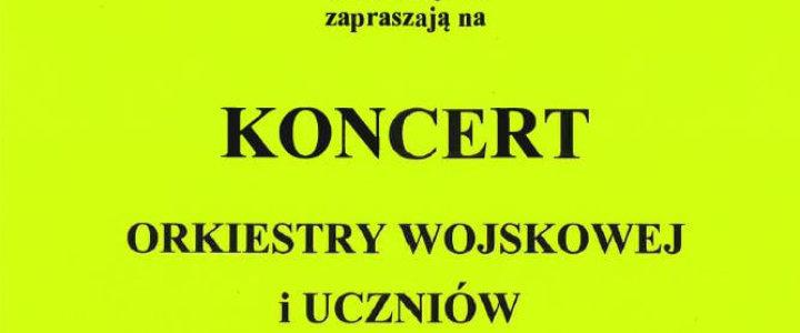 Zapraszam na wtorkowy koncert uczniów Państwowej Szkoły Muzycznej I stopnia i Orkiestry Wojskowej w Świnoujściu.