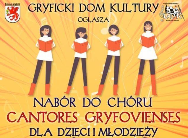 Gryfice. Zapraszamy na przesłuchanie do chóru Dziecięco-Młodzieżowego Chóru Cantores Gryfovienses.