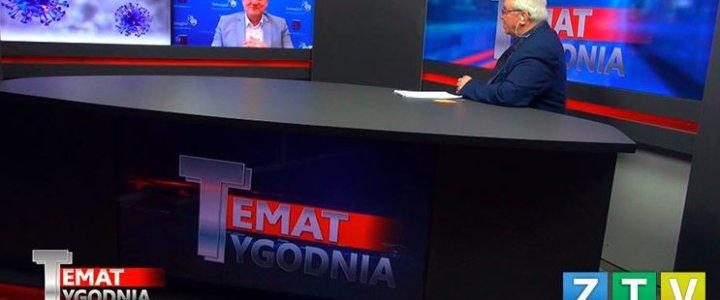 Świnoujście. Temat Tygodnia – środa, 26 marca br. Zastępca Prezydenta Świnoujścia Paweł Sujka.